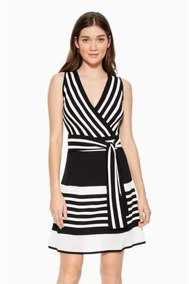 Parker Madelina Striped Knit Dress