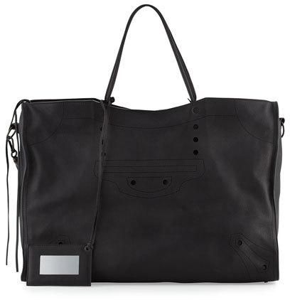 Balenciaga Balenciaga Blackout City Extra-Large Tote Bag