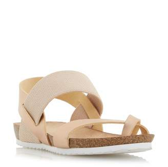 Head Over Heels Laury elastic strap sandals