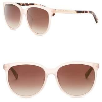 Balenciaga Acetate Square Sunglasses