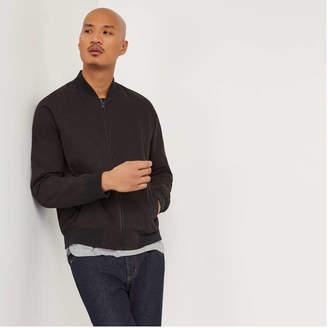 Joe Fresh Men's Bomber Jacket, Black (Size M)