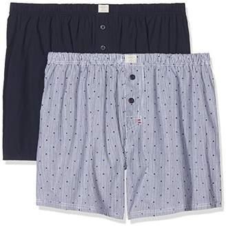 Esprit Men's Glen 2 2woven Boxer Shorts,(Manufacturer Size: 7)