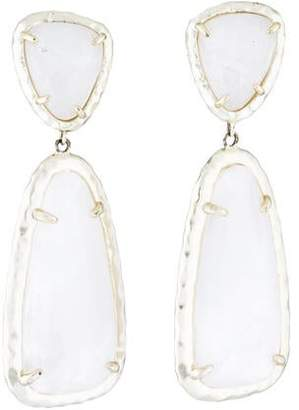 Kendra Scott Quartz & Mother of Pearl Doublet Daria Drop Earrings