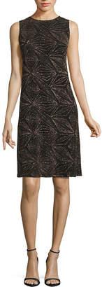 Jump Apparel Short Sleeve Party Dress-Juniors Long