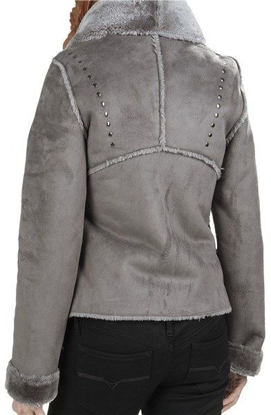 dylan Wrap Jacket - Faux Shearling (For Women)