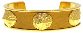 Hermes Gold-Tone Bangle Bracelet