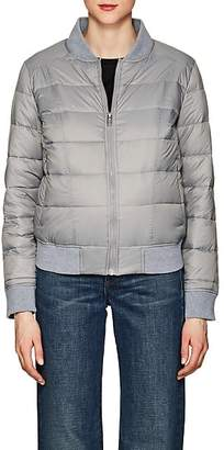 William Rast WOMEN'S DOWN PUFFER BOMBER JACKET - GRAY SIZE S