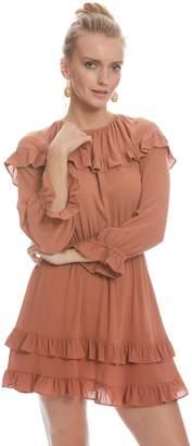 Crepe Rayon Maeve Dress - Terra Cotta