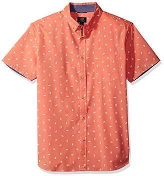 Lee Men's Short Sleeve Pattern Woven
