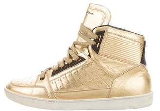 Saint Laurent SL/24H Metallic Sneakers