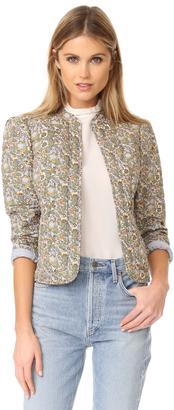 La Vie Rebecca Taylor Marigold Pop Jacket $375 thestylecure.com