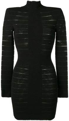 Balmain bandage mini dress