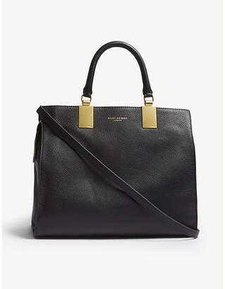 Kurt Geiger London Black Emma Leather Tote Bag
