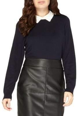 Dorothy Perkins Embellished Collar Sweater