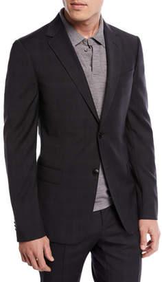 Z Zegna Drop 8 Subtle Check Two-Piece Wool Suit