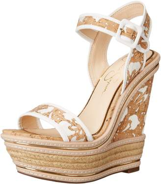 Jessica Simpson Women's Ayala Wedge Sandal