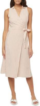O'Neill Skylie Midi Wrap Dress