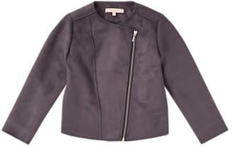 Jigsaw Girls' Suedette Jacket