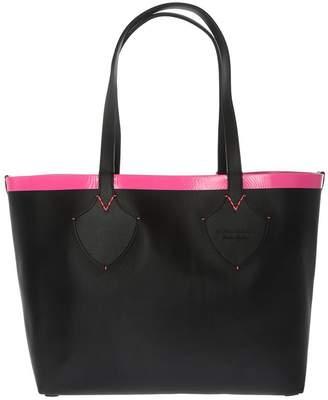Burberry Embossed Shopper Bag