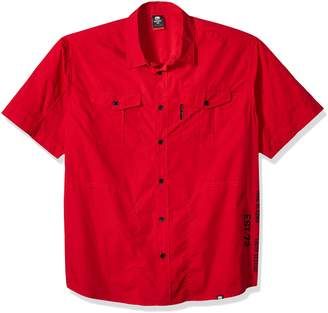 Ecko Unlimited Men's Big-Tall Short Sleeve T-Shirt, Heather Grey, 4XB