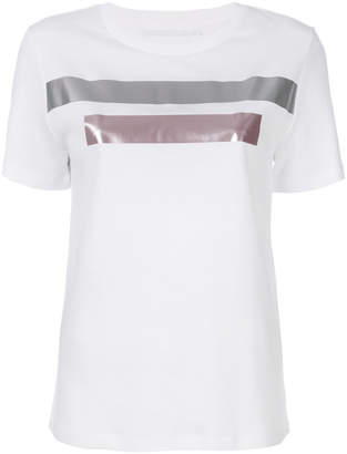 Neil Barrett metallic stripe T-shirt