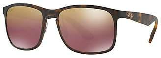 Ray-Ban RB4264 Polarised D-Frame Sunglasses