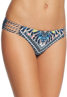 Red Carter Graphic Print Classic Bikini Bottom $80 thestylecure.com