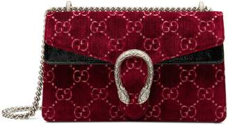 Gucci Dionysus GG velvet small shoulder bag