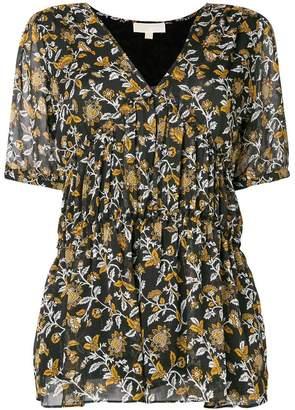 MICHAEL Michael Kors floral print blouse