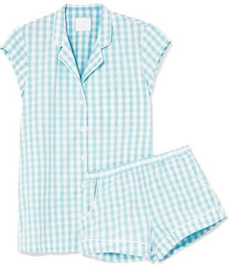 Three J NYC Olivia Printed Cotton-voile Pajama Set - Mint