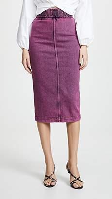 No.21 No. 21 Denim Midi Skirt