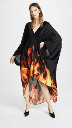 Gareth Pugh Kaftan Flame Dress