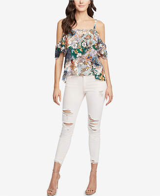 Rachel Roy Ripped Skinny Jeans, Created for Macy's