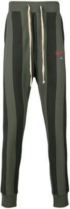 Vivienne Westwood striped logo track pants