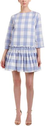 ENGLISH FACTORY Long Sleeve Dress