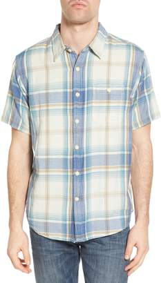 True Grit Maverick Plaid Sport Shirt