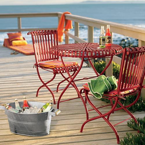 Fun in the Sun 3-pc. Dining Set, Red