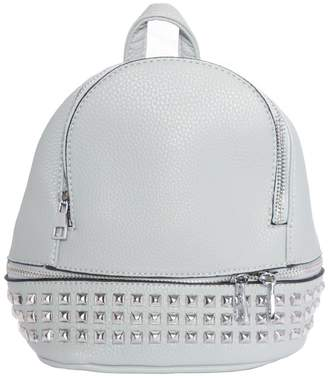 Missy Empire Missyempire Charlie Grey Stud Mini Backpack