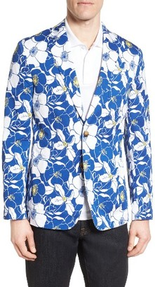 Men's Vineyard Vines Seaside Floral Cotton Blazer $395 thestylecure.com