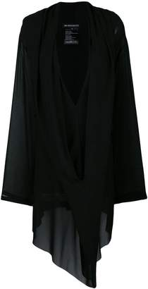 Ann Demeulemeester draped layered dress