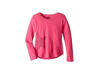 Life is Good Primal Star Smiling Smooth T-Shirt Long Sleeve (Little Kids/Big Kids)