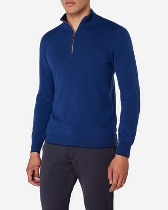 N.Peal The Carnaby Half Zip Cashmere Jumper