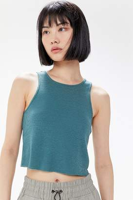 Urban Outfitters Godfather Cutoff Cropped Tank Top