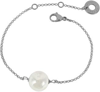 Antica Murrina Perleadi White Murano Glass Bead Chain Bracelet $45 thestylecure.com