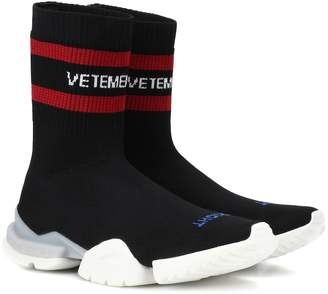 Vetements x Reebok stretch-knit sneakers