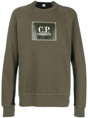 C.P. Company logo print sweatshirt