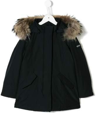 Woolrich Kids padded parka coat