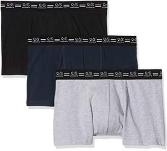 S'Oliver Q/S designed by Men's 40712971112 Boxer Shorts, Black 99B0, Medium