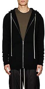Rick Owens Men's Wool-Blend Hoodie-Black
