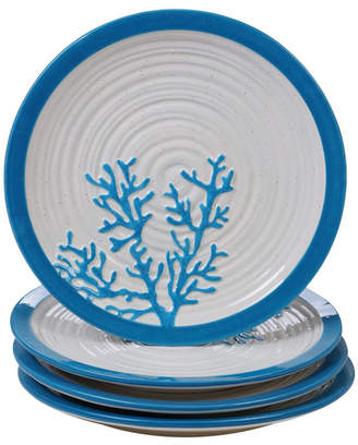 Certified International Natural Dinner Plates, Set of 4
